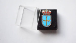 asturias pin in a box