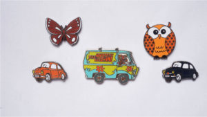 5 hard enamel custom pins