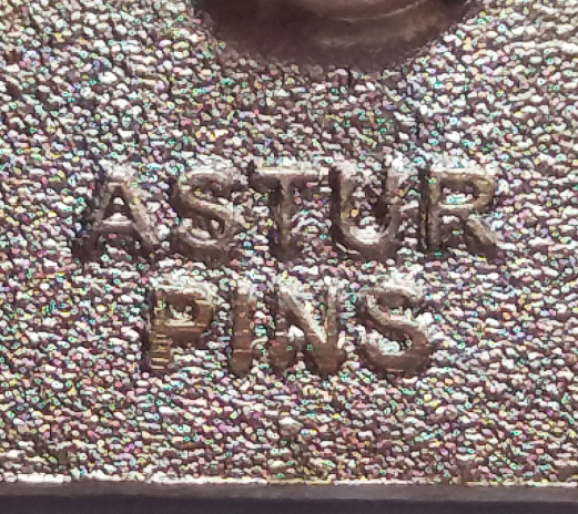 engraved pin