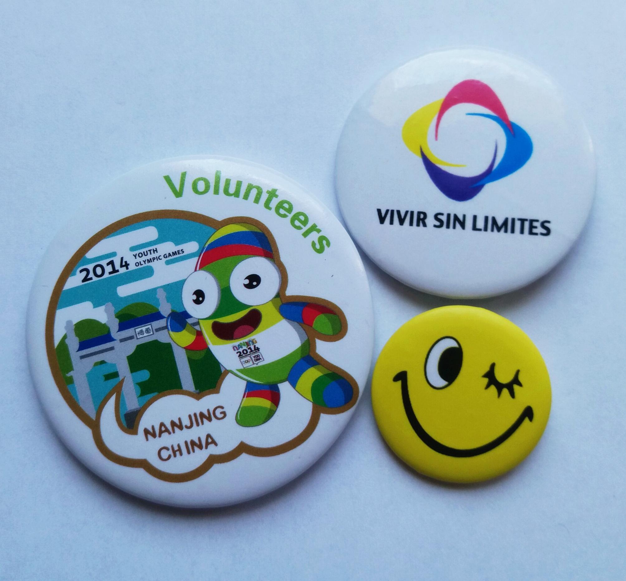 3 custom buttons