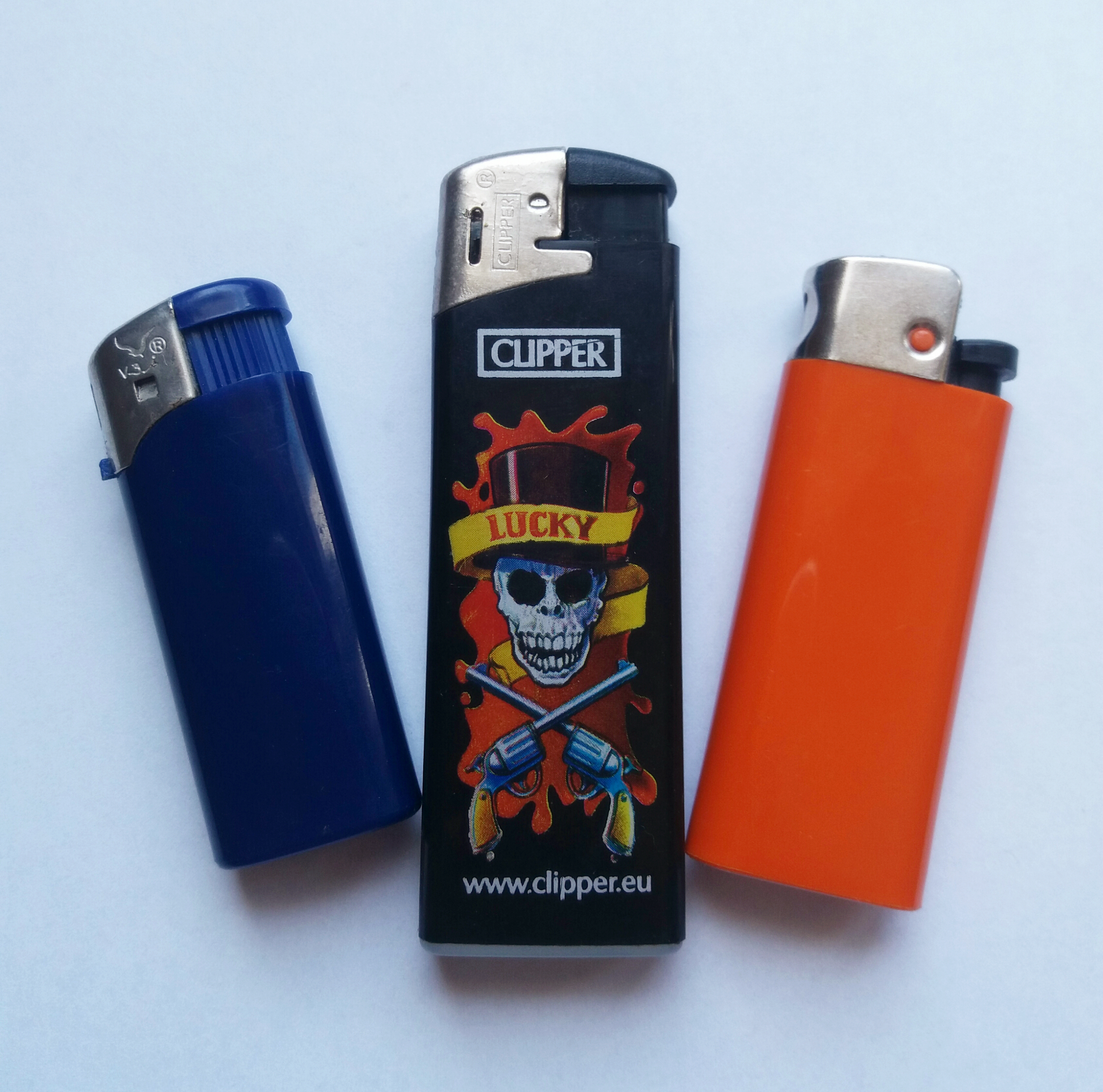 3 custom lighters